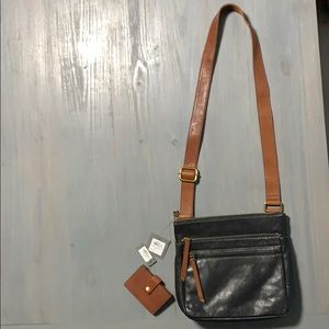 Fossil Crossbody and Cardholder